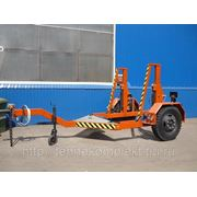 Кабельный транспортер К-4. (Прицеп специальный для перевозки кабеля 898202 (К-4)