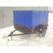 Прицеп к легковому авто. Кузов размером 2*1,3 м. (с тентом высотой 1м. ) фото