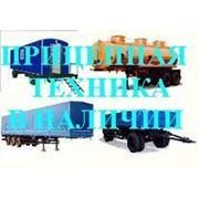 Прицеп самосвальный НЕФАЗ-8560-82-02 10 (грузоподъемность 10 тонн, длина прицепа 7,78м) фото