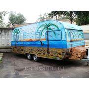 Прицеп дача, дом на колёсах, Wilk 550 с ПТС в Москве