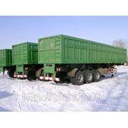 Полуприцеп Cамосвальный 60 тонн фото