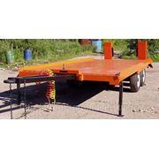 Прицеп эвакуатор или платформа для дорожно-строительной техники г/п до 3,5 тонн