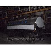 Прицеп-цистерна объемом 9800 литров на шасси прицепа СЗАП-8357 фото