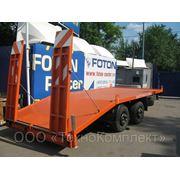 Прицеп-трейлер для перевозки спецтехники 871400. фото