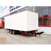 Новый прицеп-фургон 44м3 Moeslein (Германия), верхний зацеп, г/п до 9 т