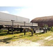 Полуприцеп контейнеровоз Fliegl SDS400 фото