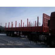 Полуприцеп-лесовоз 60 тонн фото