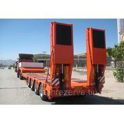 Трал универсальный раздвижной (г/п 50 тонн) с раздвижными кониками фото