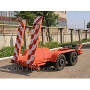 Прицеп-трейлер для перевозки спецтехники 87140. фото