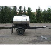 Прицеп-цистерна объемом 2000 литров на шасси автоприцепа фото