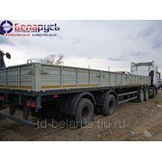 полуприцеп бортовой длина 13 метров грузоподъемность 24 тонны МАЗ-938662-042