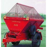 Прицеп тракторный пескоразбрасвыающий Л - 415 фото
