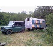 Пчелопавильон с авто УАЗ 31512 фото