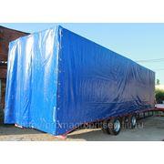 Прицеп-трал с каркасом и тентом, для перевозки спецтехники и ГНБ до 15 тонн фото