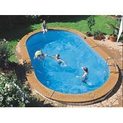 Овальный бассейн SWIM FUTURE POOL Германия, 5,3х3,2 м, Объем 21 м3. фото