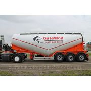 Цементовоз GuteWolf 34м3. с компрессором, гарантия.