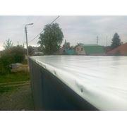 Тентовое полотно сдвижной крыши фото