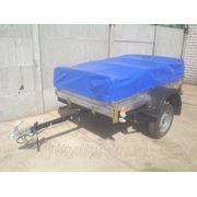 Прицеп легковой. Кузов размером 1,9*1,25 м. (с тентом высотой 0,6м. ) фото