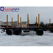 прицеп сортиментовоз трехосный МАЗ-892620-010, грузоподъемностью 23 тонны фото