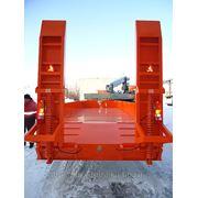 Прицеп трал тяжеловоз 14 тонн для перевозки техники ГНБ фото