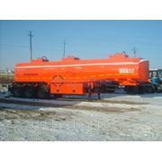 Полуприцеп-цистерна бензовоз Граз объемом 35 м.куб. для транспортировки светлых нефтепродуктов фото