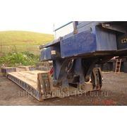 Трал низкорамный тяжеловоз King GTL112 80 тонн 2002 г.в. фото