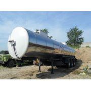 Битумовоз 38 м3, 12 тонные оси фото