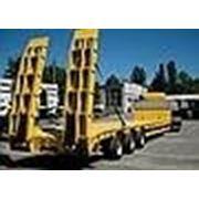 ВАРЗ-НПК-2912з 3-осный полуприцеп-контейнеровоз грузоподъемностью 34 000 кг. фото