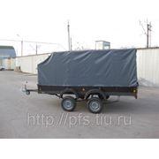 Прицеп для негабаритных грузов и спецтехники (грузоподъемность до 1500кг) размер куз. 3,9*1,9 фото