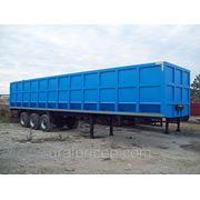 Полуприцеп ломовоз-металловоз (сьемный кузов) 67м3 -36тн фото