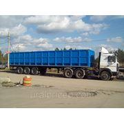Полуприцеп металловоз -ломовоз 33 тн объем кузова 54 м3 кубов фото