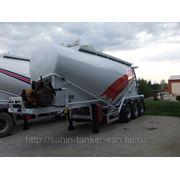 Цементовозы турецкие V-образный 35 м3 алюминиевые цементовозы Турция фото