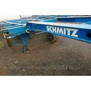 Schmitz Cargobull Gotha п/п конт-з низкорамный фото