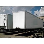 ВАРЗ НПО-2485 ИЗ 3-осный полуприцеп-изотермический контейнер грузоподъемностью 29 100 кг. фото