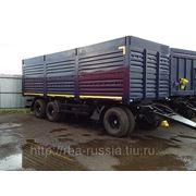 Прицеп АвтоМастер 8447-01 зерновоз бортовой 3-х уровневый фото