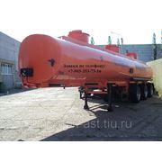 Полуприцеп-цистерна НЕФАЗ-96894 (33500 литров, три оси, три отсека) фото