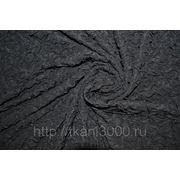 Трикотаж фукра черный фото