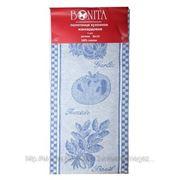 Bonita Полотенце 50*70 жаккард, помидор,базилик,чеснок, голубой