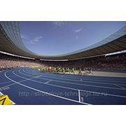 Устройство наружных спортивных покрытий и площадок материалами CONICA фото