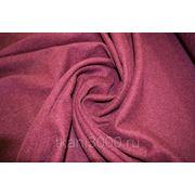 Пальтовая ткань бордовая фото