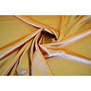 Креп-сатин бледно - оранжевый фото