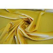Креп-сатин нежно - желтый фото