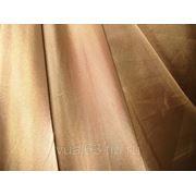 Ткань Полуорганза светло-терракотовая фото