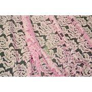 Гипюр нежно - розовый фото