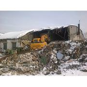 Демонтаж домов фото