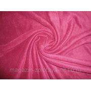 Ткань Флис бордо фото