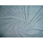 Ткань Флис серый фото