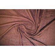 Флис коричневый фото