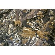 """Флис набивной """" Таежный лес """" коричневый фото"""