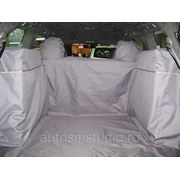 Чехол багажника Standart для автомобилей Toyota LC200 (04.2012-2013) цвет чёрный фото